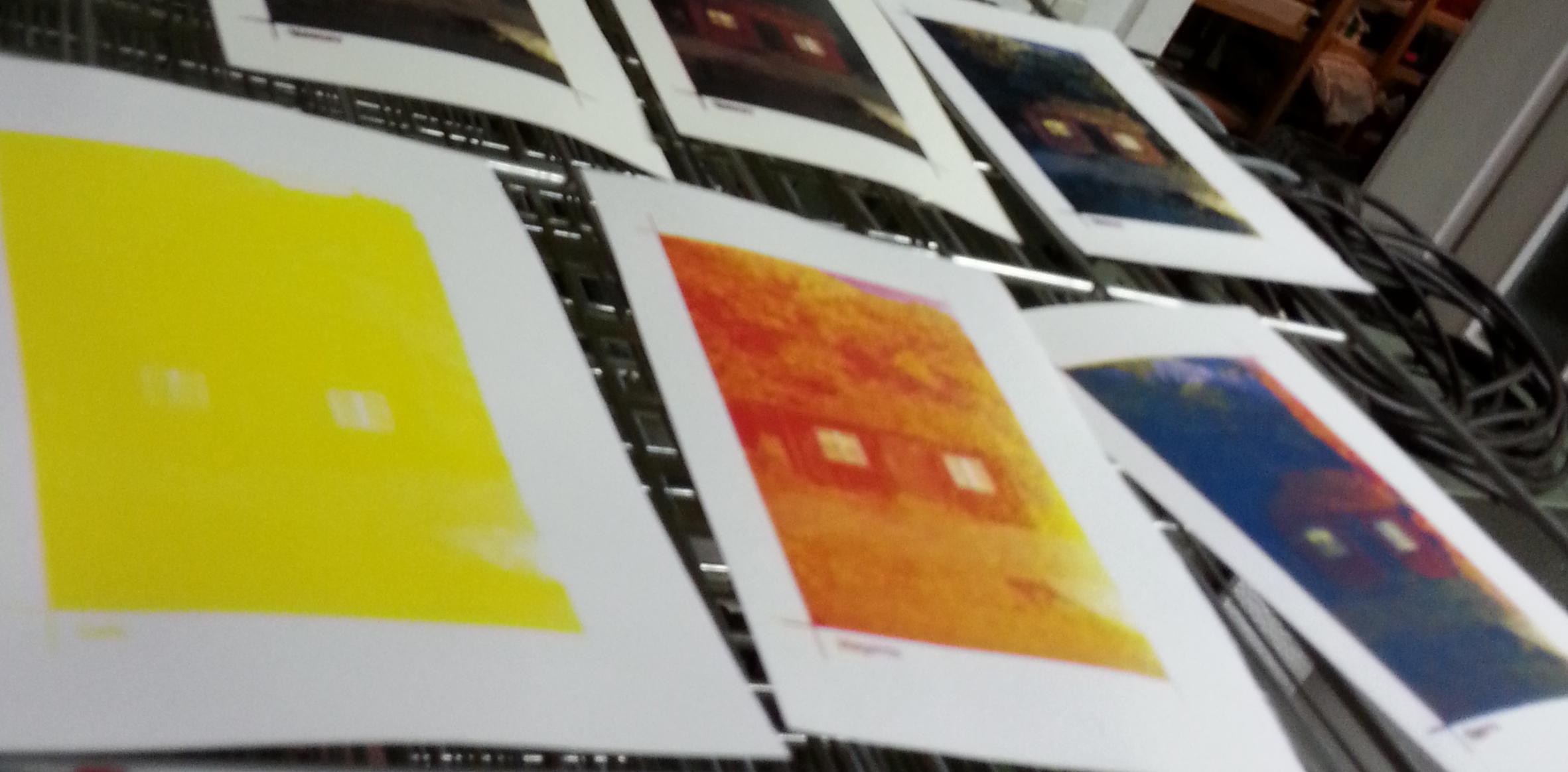 4 Farb-Siebdruck